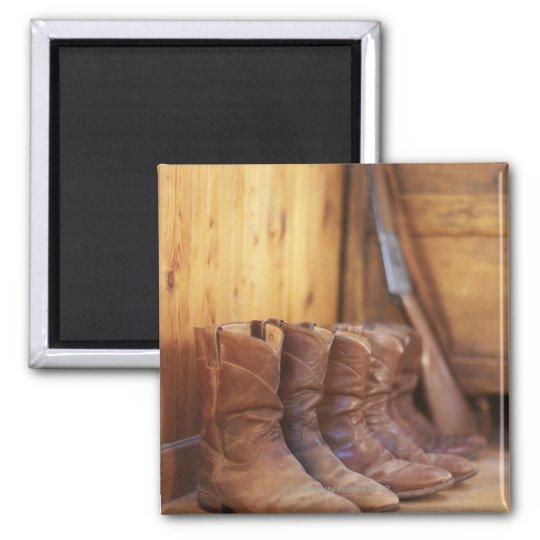 Cowboy boots 4 magnet