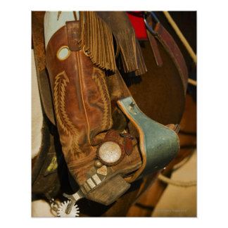 Cowboy boots 5 poster