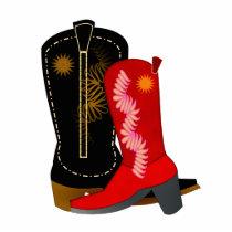Cowboy Boots Cutout