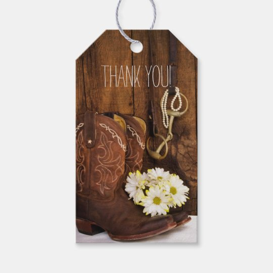 Rustic Bridal Shower Favors Custom Made Cowboy Boot /& Hat Personalized Ribbons
