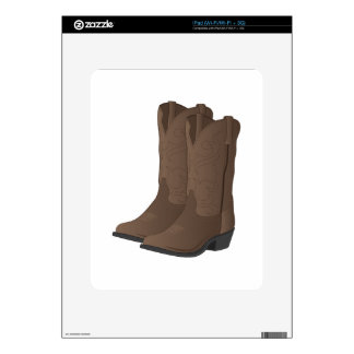 Cowboy Boots Decal For iPad