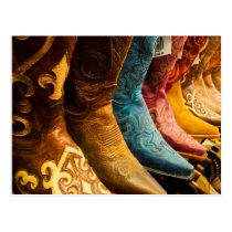 Cowboy boots for sale, Arizona Postcard