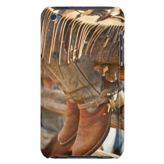 Cowboy boots on fence 2 barely there iPod case