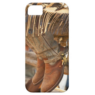 Cowboy boots on fence 2 iPhone SE/5/5s case