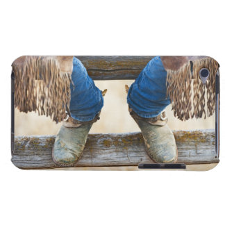 Cowboy boots on fence barely there iPod covers