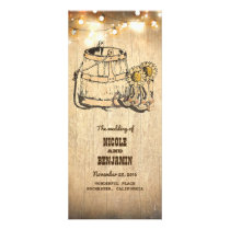 Cowboy Boots Rustic Country Wedding Programs