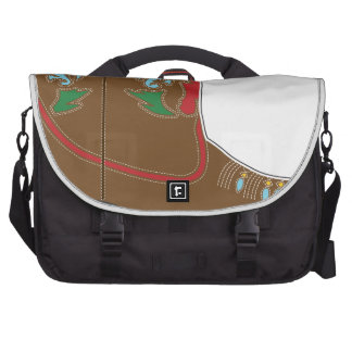 Cowboy Boots Short Commuter Bag
