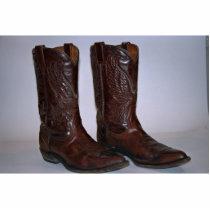 Cowboy boots statuette