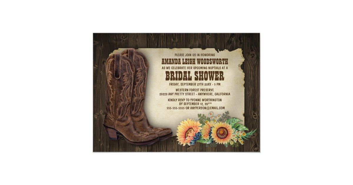 Cowboy Invitations & Announcements | Zazzle