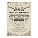 Cowboy Boots Sunflower Country Rustic Barn Wedding Card