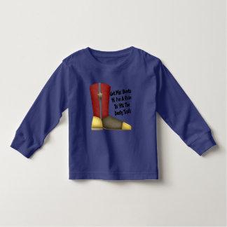 Cowboy Boots Toddler T-shirt