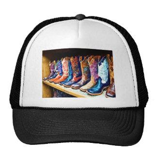 Cowboy Boots Trucker Hat