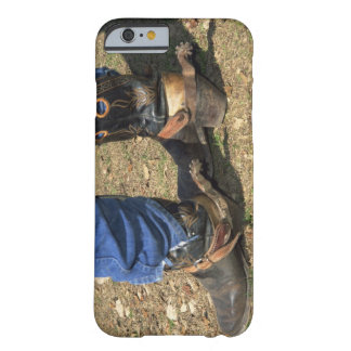 Cowboy boots with spurs barely there iPhone 6 case