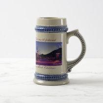 Cowboy Brad Estes Park Christmas mug