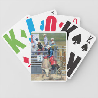 CowBoy- Bull Ride Bicycle Card Deck