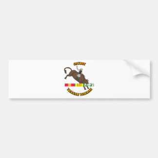 Cowboy Car Bumper Sticker