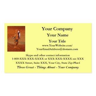 Cowboy - business card template