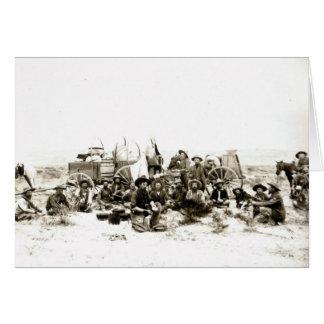 Cowboy Camp Card