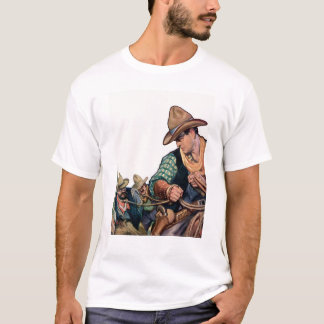 Cowboy Carrying Prisoners T-Shirt
