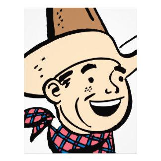 cowboy cartoon letterhead