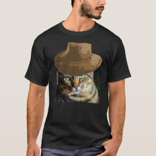 1c1cdd648 Cowboy Cat T-Shirts - T-Shirt Design & Printing | Zazzle