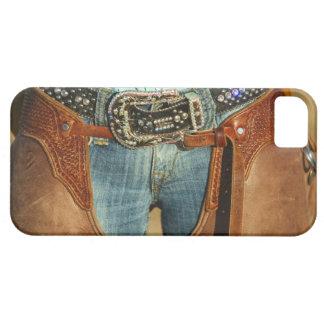 Cowboy chaps iPhone SE/5/5s case