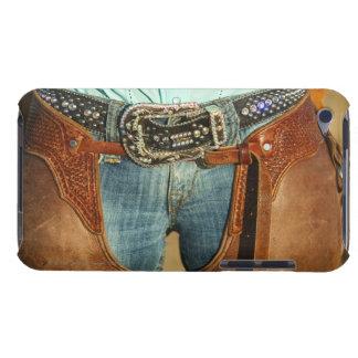 Cowboy chaps iPod touch case