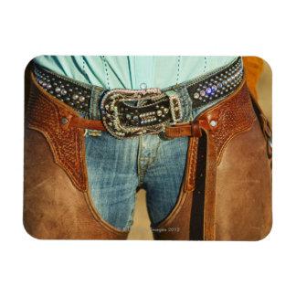 Cowboy chaps flexible magnet