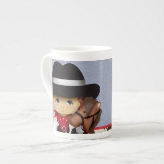 Cowboy China Mug