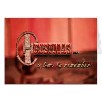 Cowboy Christmas Card
