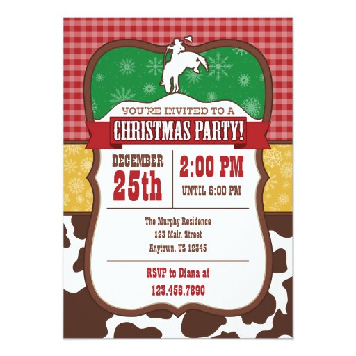 company christmas invitations