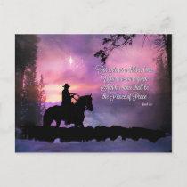 Cowboy Christmas Postcards