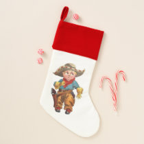 Cowboy Christmas Stocking