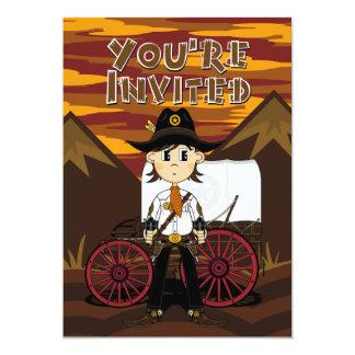 Cowboy & Chuck Wagon Party Invite