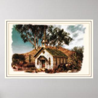 Cowboy Church Poster