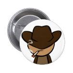 Cowboy Close-up Buttons
