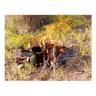 Cowboy Coffee in Dolan Springs, Arizona Postcard