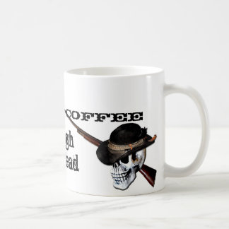 Cowboy Coffee Classic White Coffee Mug