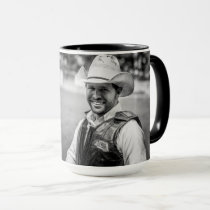 Cowboy Coffee Picture Photo Mug USA Custom