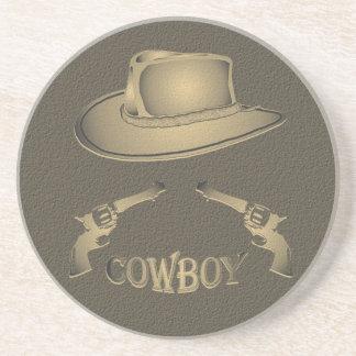 Cowboy Colt! Sandstone Coaster