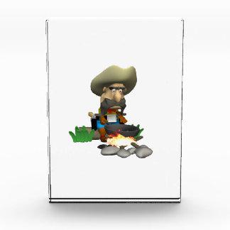 Cowboy Cooking Acrylic Award