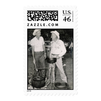 COWBOY COOKS POSTAGE STAMP