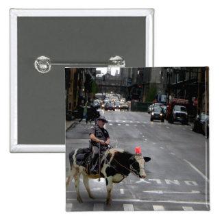 Cowboy Cop Button
