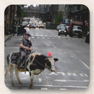 Cowboy Cop Coaster