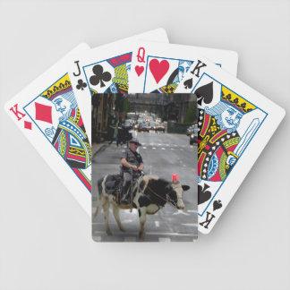 Cowboy Cop Bicycle Poker Deck