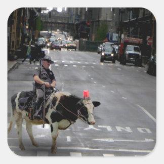 Cowboy Cop Stickers