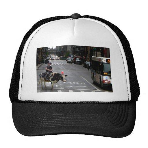 Cowboy Cop Trucker Hat