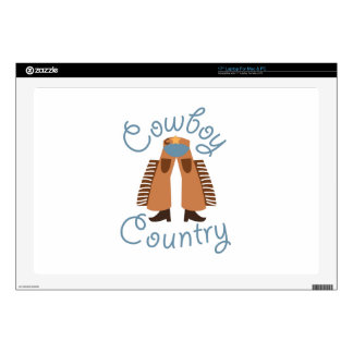 "Cowboy Country Skins For 17"" Laptops"
