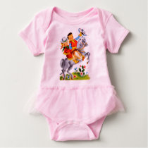 Cowboy cowgirl Body Suit Baby Bodysuit