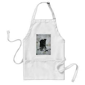 Cowboy Cowgirl Boots Western Spurs Adult Apron